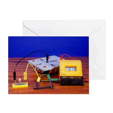 Conductivity test - Greeting Card