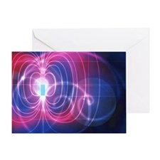 Magnetic field - Greeting Card