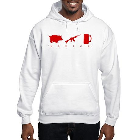 'Merica Hooded Sweatshirt