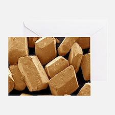 Sugar crystals - Greeting Card