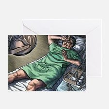 Vasectomy fear, conceptual artwork - Greeting Card