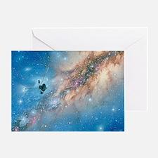 Voyager spacecraft - Greeting Card