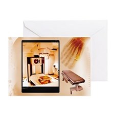 X-ray machine, composite - Greeting Card