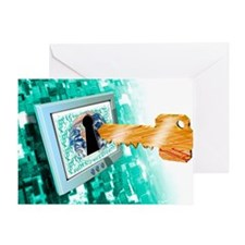 Computer security - Greeting Card