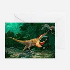 Feathered dinosaurs - Greeting Card