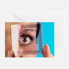 Intelligent label chip - Greeting Card