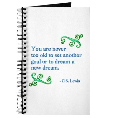 Never Too Old Journal
