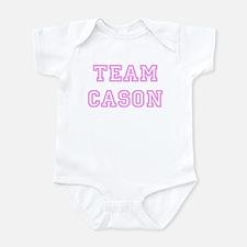 Pink team Cason Onesie