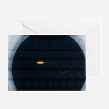 Magic sensor X-ray - Greeting Card