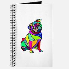Designed Pug Journal