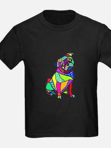 Designed Pug T