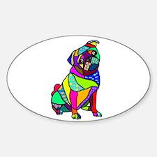 Designed Pug Decal