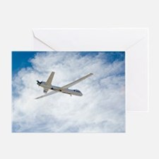 MQ-9 Reaper spyplane - Greeting Card