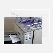 Photocopier - Greeting Card
