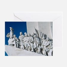 Portuguese maritime monument - Greeting Card