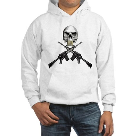 Skull Bullet teeth Hooded Sweatshirt