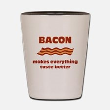 Bacon makes everything tastier Shot Glass