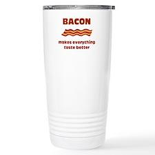 Bacon makes everything tastier Travel Mug
