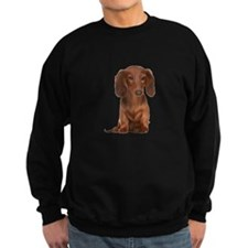 Painted Red Doxie Sweatshirt