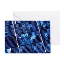 Solar cells - Greeting Card