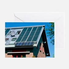 Solar technology, Germany - Greeting Card