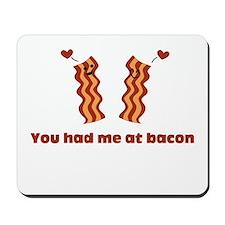 Bacon Love Mousepad
