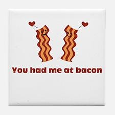 Bacon Love Tile Coaster