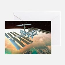 The International Space Station - Greeting Card
