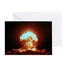 View of the Badger nuclear explosion - Greeting Ca
