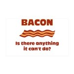 Bacon, Is There Anything It Cant Do? 35x21 Wall De