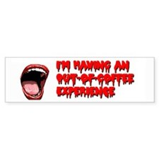 Out of Coffee Bumper Sticker