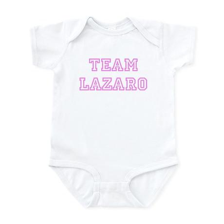 Pink team Lazaro Infant Bodysuit