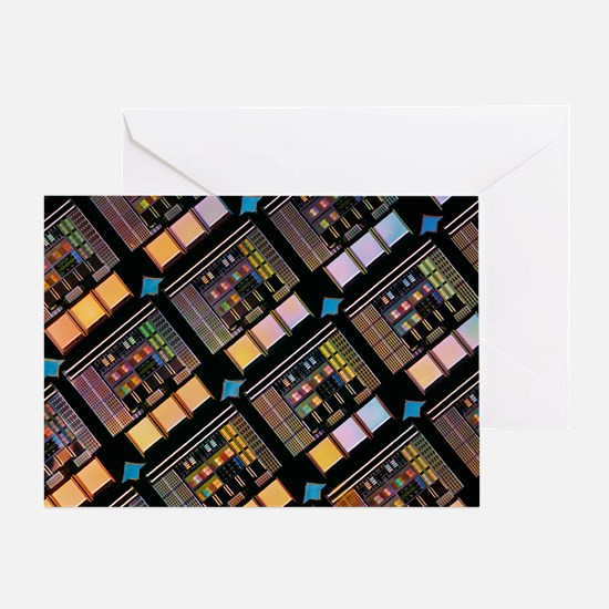 Production of integrated circuits - Greeting Card