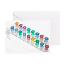 Eppendorf tubes - Greeting Card