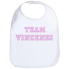 Pink team Vincenzo Bib