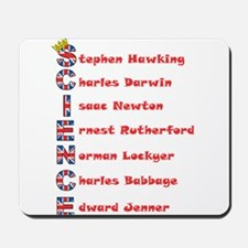 Science Thanks The English! Mousepad
