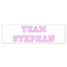 Pink team Stephan Bumper Bumper Sticker