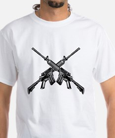Crossed AR15 Rifles Shirt