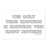 You Know Nothing-Socrates Postcards (Package of 8)