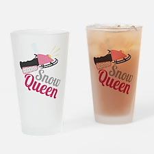 Snow Queen Drinking Glass