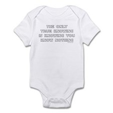 You Know Nothing-Socrates Infant Bodysuit
