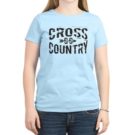 cross country Women's Light T-Shirt