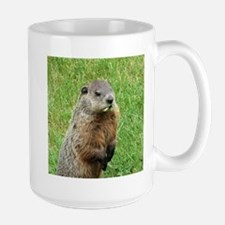 Woodchuck Eating Mug