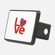 Netherlander Red LOVE Hitch Cover