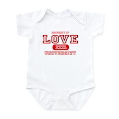 Love University Property Infant Bodysuit
