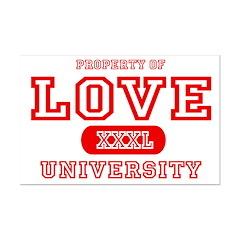 Love University Property Posters