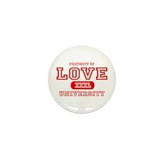 Love University Property Mini Button (10 pack)