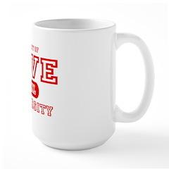 Love University Property Mug