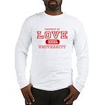 Love University Property Long Sleeve T-Shirt