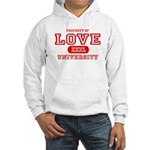 Love University Property Hooded Sweatshirt